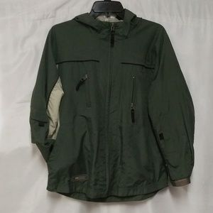 Free Country Two Tone Green Light Weight Jacket